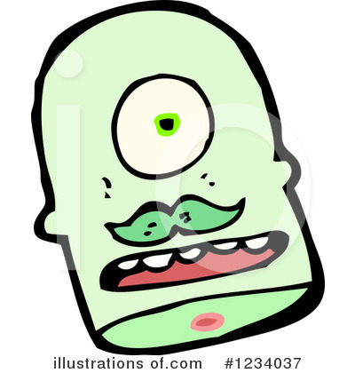 Zombie Clipart #1234037 by lineartestpilot