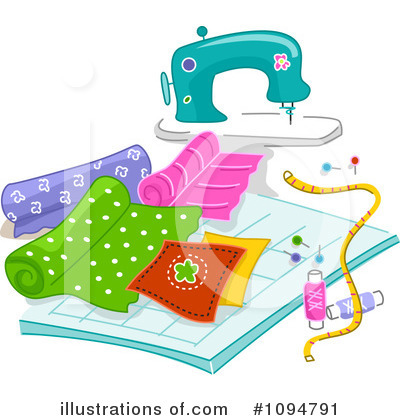 Sewing Machine Clipart #1094791 by BNP Design Studio