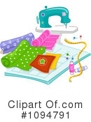 Sewing Clipart #1094791