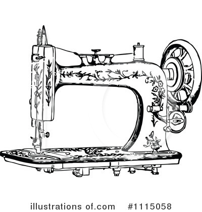 Sewing Clipart #1115058 by Prawny Vintage