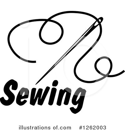 Tailoring Clipart #1262003 by Vector Tradition SM