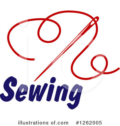 Tailoring Clipart #1262005 by Vector Tradition SM