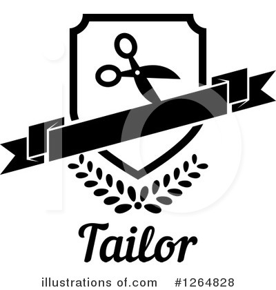 Tailoring Clipart #1264828 by Vector Tradition SM