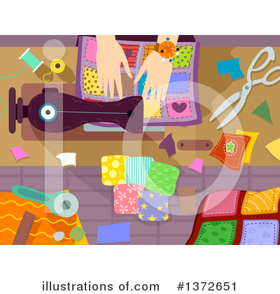 Sewing Machine Clipart #1372651 by BNP Design Studio