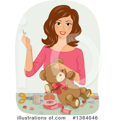 Teddy Bear Clipart #1384046 by BNP Design Studio