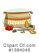 Sewing Clipart #1384049 by BNP Design Studio