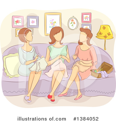 Sewing Clipart #1384052 by BNP Design Studio