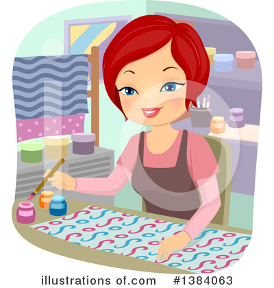 Sewing Clipart #1384063 by BNP Design Studio