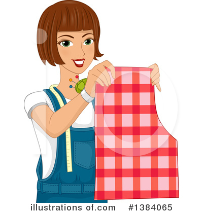 Sewing Clipart #1384065 by BNP Design Studio