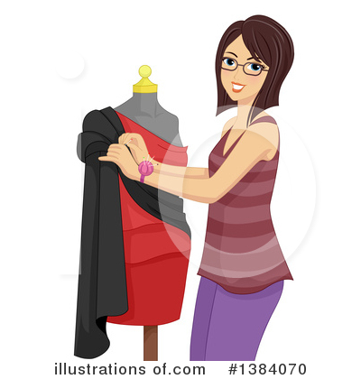 Mannequin Clipart #1384070 by BNP Design Studio