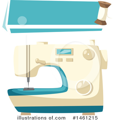 Sewing Clipart #1461215 by Vector Tradition SM