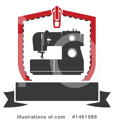 Sewing Clipart #1461988 by Vector Tradition SM