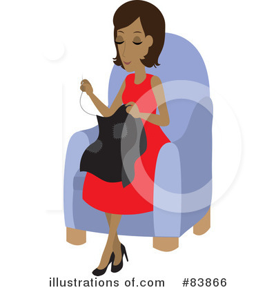 Sewing Clipart #83866 by Rosie Piter