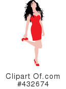 Sexy Woman Clipart #432674 by Pams Clipart
