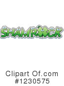 Shamrock Clipart #1230575 by Cory Thoman