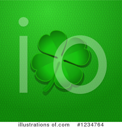 Royalty-Free (RF) Shamrock Clipart Illustration by elaineitalia - Stock Sample #1234764