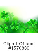 Shamrock Clipart #1570830 by AtStockIllustration