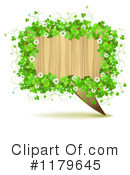 Royalty-Free (RF) shamrocks Clipart Illustration #1179645