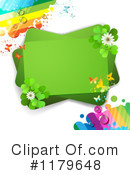 Royalty-Free (RF) Shamrocks Clipart Illustration #1179648