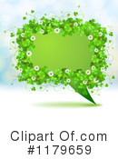 Royalty-Free (RF) shamrocks Clipart Illustration #1179659