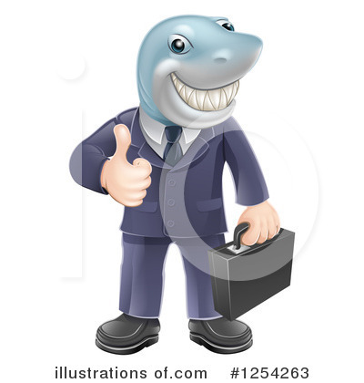 Business Man Clipart #1254263 by AtStockIllustration
