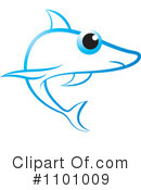 Royalty-Free (RF) Shark Clipart Illustration #1101009