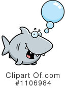 Royalty-Free (RF) Shark Clipart Illustration #1106984