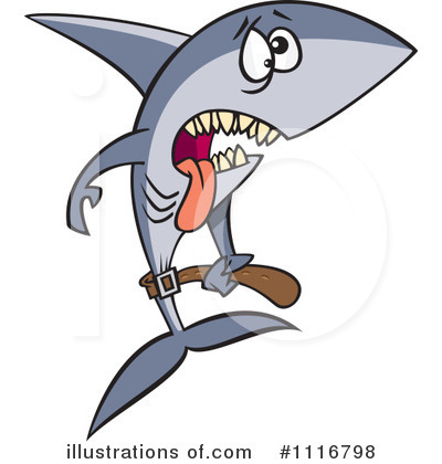Shark Clipart #1116798 by toonaday