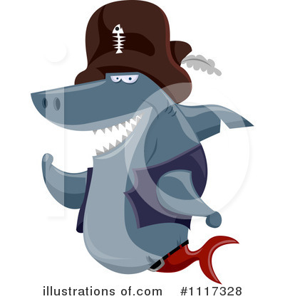 Shark Clipart #1117328 by BNP Design Studio