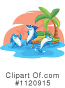 Royalty-Free (RF) Shark Clipart Illustration #1120915