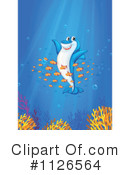 Royalty-Free (RF) Shark Clipart Illustration #1126564