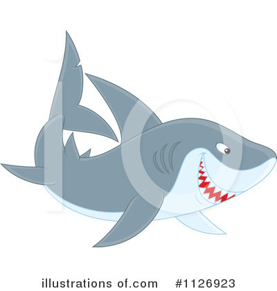 Shark Clipart #1126923 by Alex Bannykh