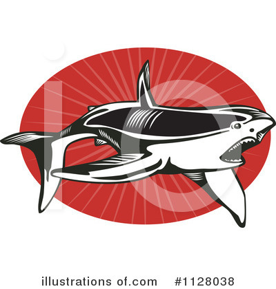 Shark Clipart #1128038 by patrimonio