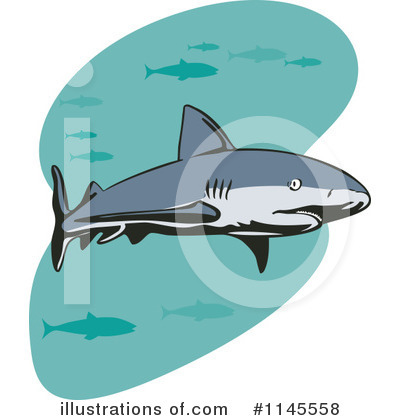 Shark Clipart #1145558 by patrimonio
