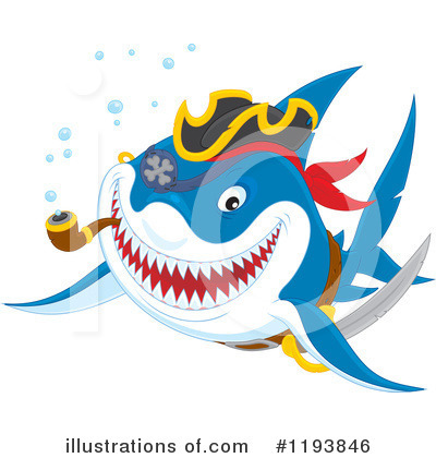 Shark Clipart #1193846 by Alex Bannykh