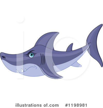 Shark Clipart #1198981 by Pushkin