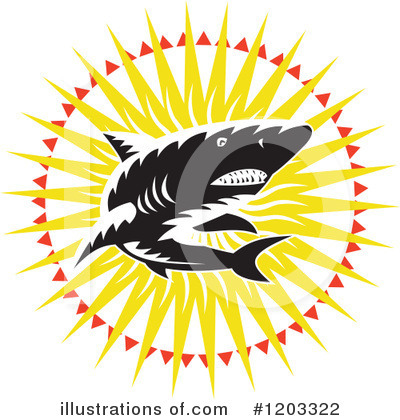 Shark Clipart #1203322 by patrimonio