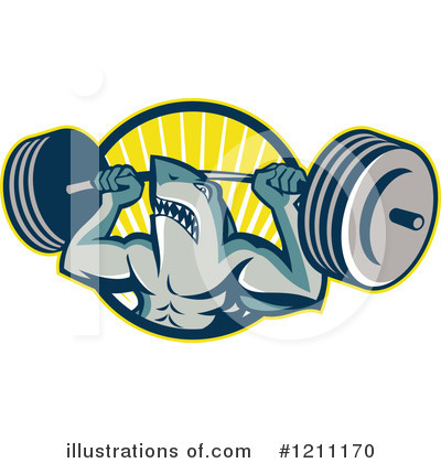 Shark Clipart #1211170 by patrimonio