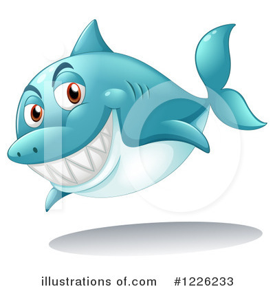 Shark Clipart #1226233 by Graphics RF