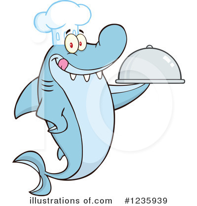 Shark Clipart #1235939 by Hit Toon