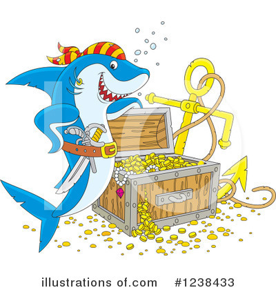 Shark Clipart #1238433 by Alex Bannykh