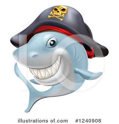 Pirate Clipart #1240908 by AtStockIllustration