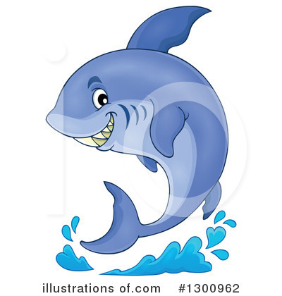 Shark Clipart #1300962 by visekart