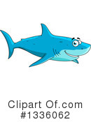 Royalty-Free (RF) Shark Clipart Illustration #1336062