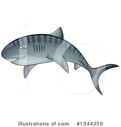 Shark Clipart #1344350 by Graphics RF