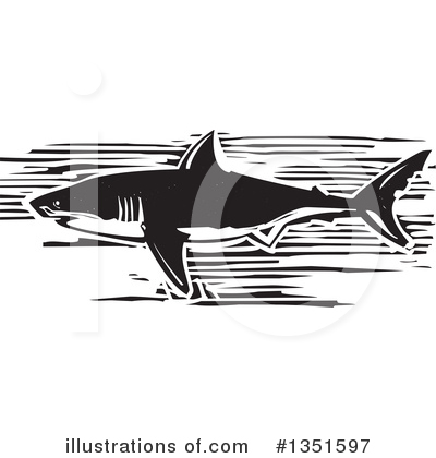 Shark Clipart #1351597 by xunantunich