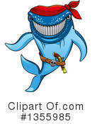 Royalty-Free (RF) Shark Clipart Illustration #1355985