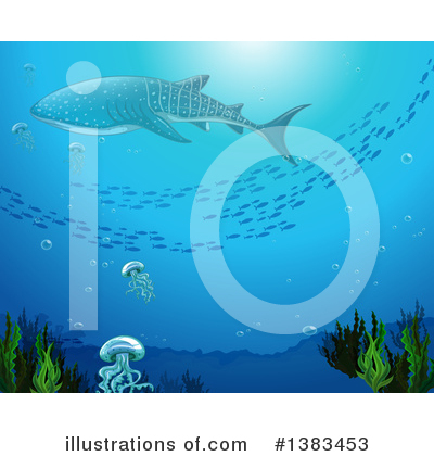 Whale Clipart #1383453 by Graphics RF