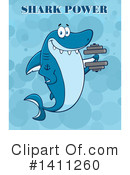 Shark Clipart #1411260 by Hit Toon