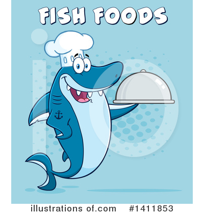 Shark Clipart #1411853 by Hit Toon